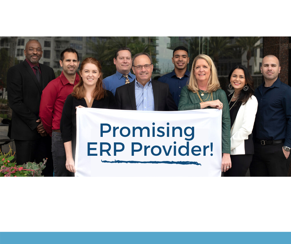 attivo group team named promising erp provider