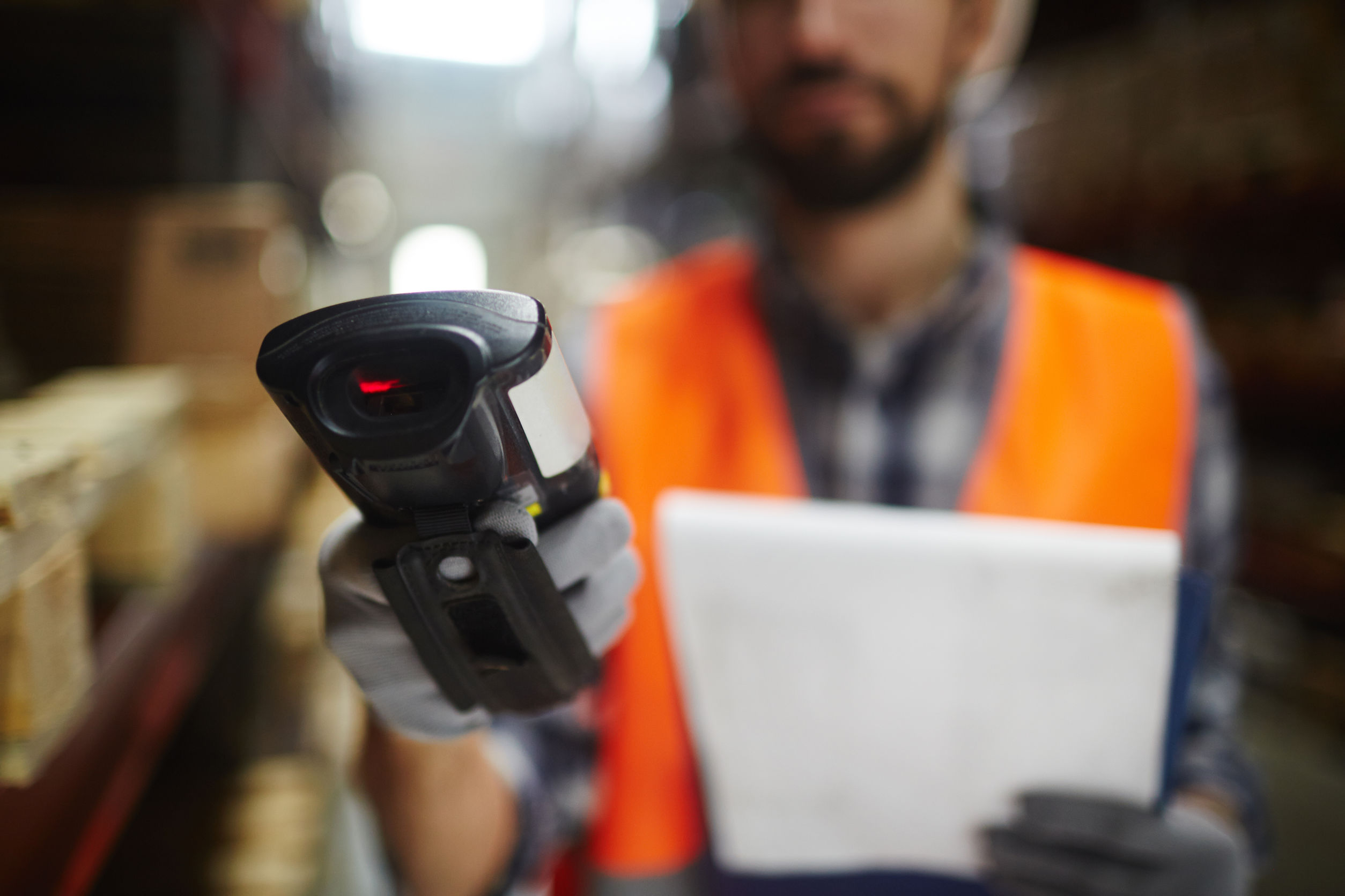 Bar code scanner for shelf-life management and inventory maangement